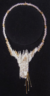 Sophistication Brooch/Necklace: State II 1984 Jewelry by  Erte