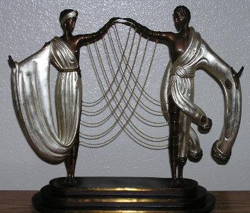 Wedding Bronze Sculpture 1986 Sculpture by  Erte