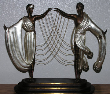 Wedding Bronze Sculpture 1986 Sculpture -  Erte