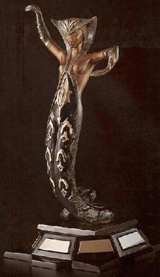 La Jalousie Bronze Sculpture 1983 Sculpture by  Erte