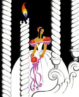 La Traviata 1982 Limited Edition Print by  Erte