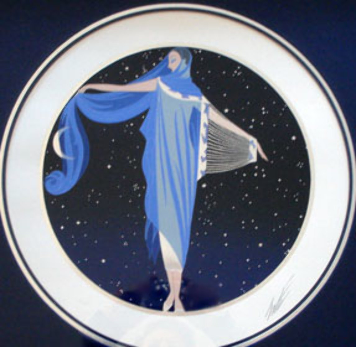 Sunrise/Moonglow Suite of 2 1984 Limited Edition Print by  Erte