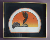 Sunrise/Moonglow Suite of 2 1984 Limited Edition Print by  Erte - 1