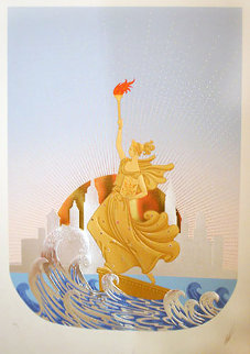 Statue of Liberty Suite 1986 Limited Edition Print -  Erte