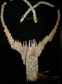 Sophistication Necklace: State II 1984 Jewelry by  Erte