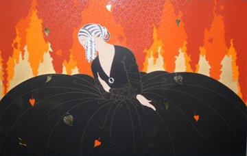 Memories 1984 Limited Edition Print by  Erte