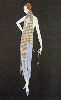 Ingenue 1990 Limited Edition Print by  Erte