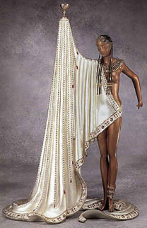 Slave Bronze Sculpture 1990 Sculpture -  Erte
