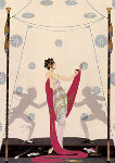 Duel 1981 Limited Edition Print -  Erte