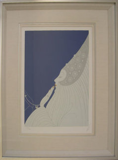 Bride 1977 Limited Edition Print by  Erte