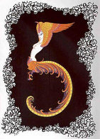 Numerals Suite of 10 1980 Limited Edition Print by  Erte - 8