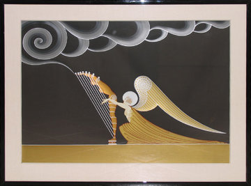 Angel 1983 Limited Edition Print by  Erte