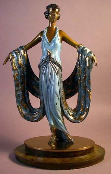 Gala Bronze Sculpture 1983 14 in Sculpture by  Erte