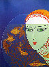 Fish Bowl 1977 Limited Edition Print by  Erte - 0