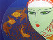 Fish Bowl AP 1977 Limited Edition Print by  Erte - 2