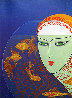 Fish Bowl AP 1977 Limited Edition Print by  Erte - 1