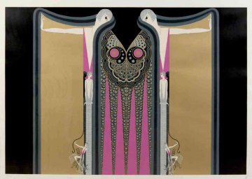 Twin Sisters 1982 Limited Edition Print by  Erte
