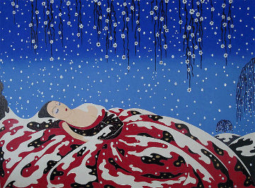 Sleeping Beauty 1983 Limited Edition Print by  Erte