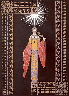 La Princess Lointaine 1984 Limited Edition Print -  Erte