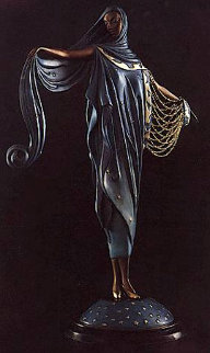 Moonlight Bronze Sculpture 1985 12 in Sculpture by  Erte