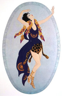 Bacchante 1987 Limited Edition Print by  Erte