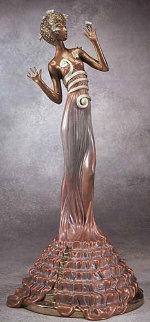 Fantasia Bronze Sculpture 1988 Sculpture -  Erte