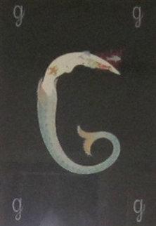 Alphabet: Letter G 1976 Limited Edition Print -  Erte