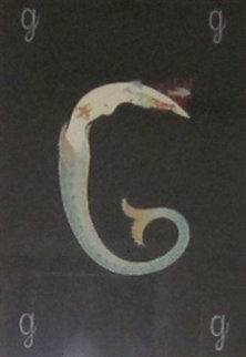 Letter G - Alphabet Suite 1976 Limited Edition Print by  Erte