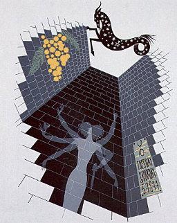 Zodiac - Capricorn - 1982 Limited Edition Print -  Erte