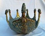 Ocean Bowl II Objets d'Arte Bronze  Bowl Sculpture 1987 Sculpture -  Erte