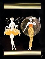 Morning Day/Evening Night Suite 1982 Limited Edition Print by  Erte - 0