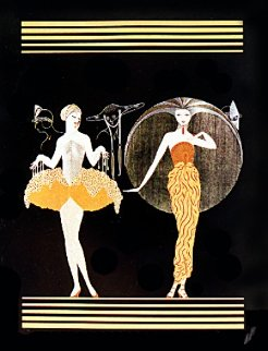 Morning Day/Evening Night Suite 1982 Limited Edition Print by  Erte