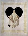 Fringe Gown 1985 Limited Edition Print -  Erte