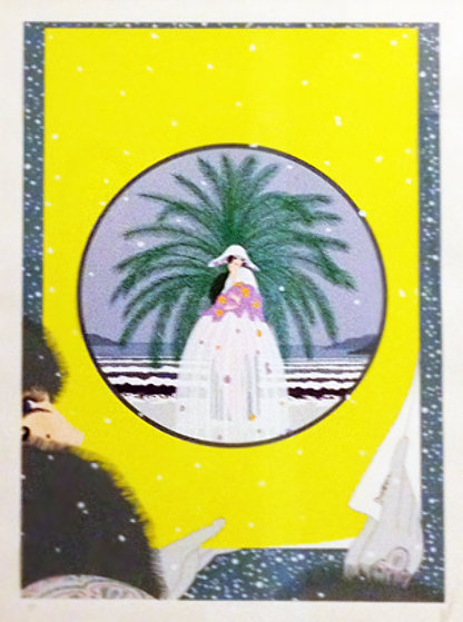 Riviera AP 1978 Limited Edition Print by  Erte