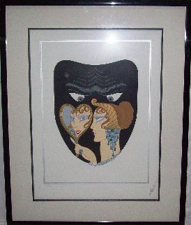 Seven Deadly Sins Suite of 7 1983 Limited Edition Print -  Erte