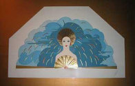 Storm and Harvest Suite of 2 1987 Limited Edition Print by  Erte - 0