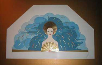 Storm and Harvest Suite of 2 1987 Limited Edition Print -  Erte