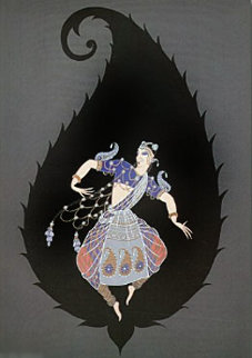 Bayadere 1986 Limited Edition Print by  Erte