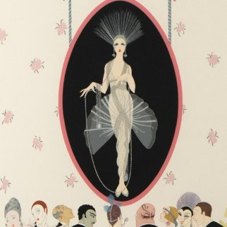 Portrait 1981 Limited Edition Print -  Erte