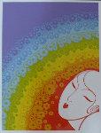 Rainbow in Blossom 1977 Limited Edition Print -  Erte