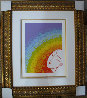 Rainbow in Blossom 1977 Limited Edition Print by  Erte - 1