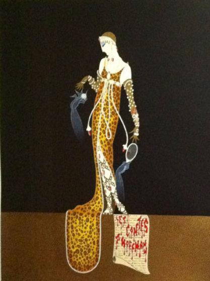 Giulietta 1983 Limited Edition Print by  Erte