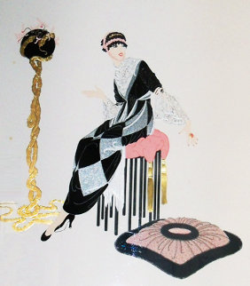Harmony 1987 Limited Edition Print by  Erte