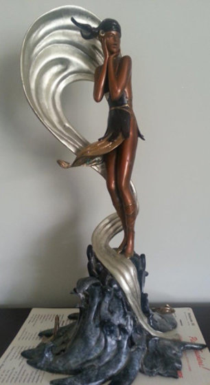 Stranded Bronze Sculpture 1990 Sculpture by  Erte
