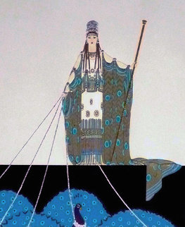Hera AP 1981 Limited Edition Print by  Erte
