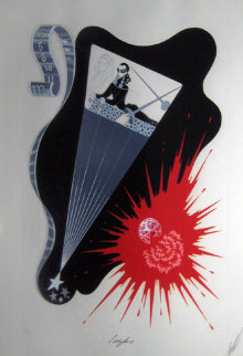 Scorpio - Zodiac Suite 1982 Limited Edition Print by  Erte