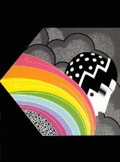 Tempest 1978 Limited Edition Print by  Erte