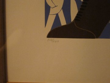 Brown Boot 1974 Limited Edition Print -  Erte