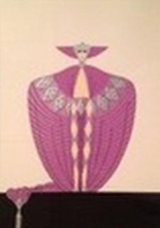 La Somptueuse 1986 Limited Edition Print -  Erte