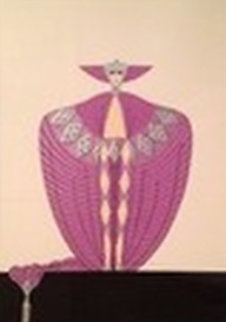La Somptueuse 1986 Limited Edition Print by  Erte